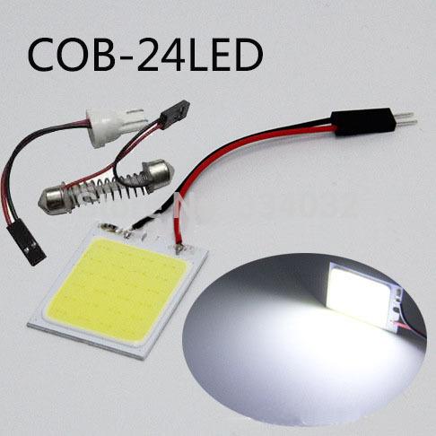 Источник света для авто 12v 24 SMD c5w t10 источник света для авто 10pcs lot g4 9 smd 5050 12v