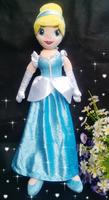 Free Shipping Brand New Princess Cindirella PLUSH TOY 50CM