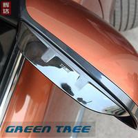 2013 2014 MITSUBISHI outlander Eyebrow Rearview mirror rain gear for Mitsubishi outlander accessories
