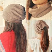 General toe cap covering cap pocket hat piles cap turban autumn and winter hat