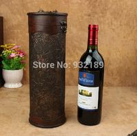 China Minhou Factory  circle wooden wine box