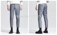 Fashion Brand THOM BROW Men's Slim black pants feet trousers England Pantyhose