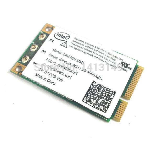 300Mbps 802.11A/B/G/N Wireless adapter WLAN Mini pci express wifi card 4965AGN(China (Mainland))