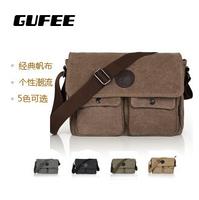 New 2014 bag for mans fashion canvas shoulder bags man handbag