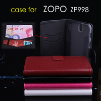 ZOPO ZP998  Leather PU Moblie Phone Flip Case For 5.5 Inch ZP998 Smartphone Free Shipping