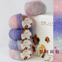 For manual knitting yarn Dyeing of wool fingering yarn Lines to baby's scarf yarn for knitting thread to knit Acrylic mohair