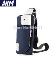 Free shipping AHM(TM) Vintage Nylon Man Bag Travel Chest Messenger Shoulder Bag Travel Utility Work Bag Messenger Bag A013