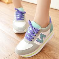 2014 autumn single shoes n female shoes agam elevator shoes sports shoes platform