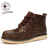 2014 NEW Men casual boots British Style autumn leather Martin boots working boots very warm