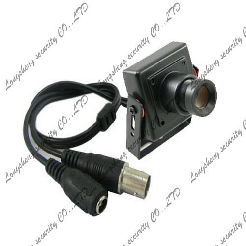 Mini Tiny Sony Effio-E 700TVL 8mm MTV Lens HD CCTV Box FPV camera 30*30mm(China (Mainland))