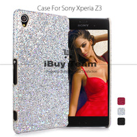 For Sony Xperia Z3 D6653 D6603 Case Bling Shine Back Cover for Sony Xperia Z3 Luxury Ultra Slim Cell Phone Protective Shell