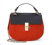 New 2014 Fashion Famous Brand Patchwork Flap Bag Ladies Shouder Messenger Bags 100% Genuine Leather Branded Handbags For Women