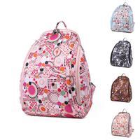 Fashion canvas super large-capacity multifunctional Mummy backpacks travel Aluminum foil insulation nappy bag  2015 5 colors