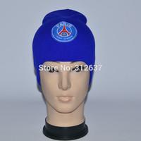 26 team can mixed Paris Saint-Germain winter black and blue caps PSG juventus knitted hat souvenirs wholesale