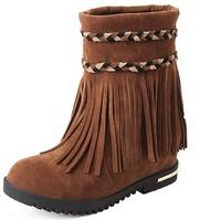 Women's Tassels Ankle Boot winter shoes