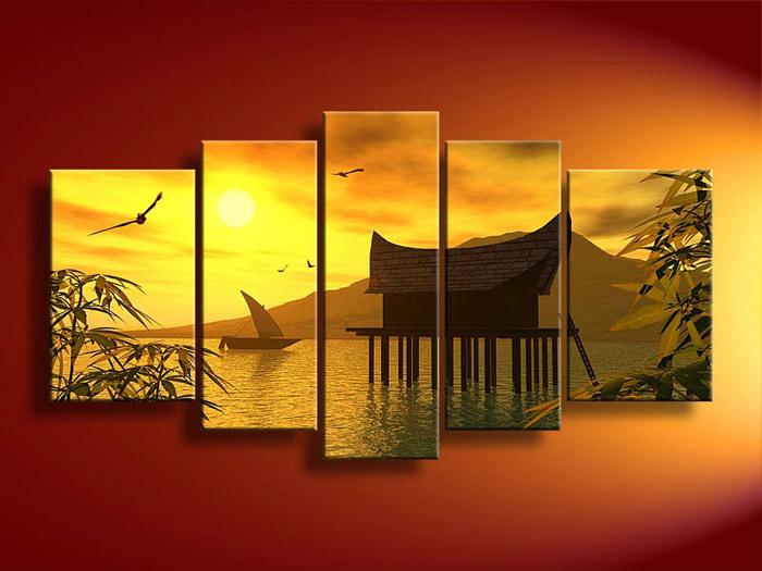 Feng Shui Woonkamer : Feng Shui Wall Art