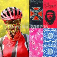 1pc Outdoor Scarves Masks High-elastic Camping & Hiking Ride Magic Bandanas Sunscreen Decoration Muffler Scarf Free Shipping