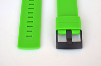 2 PCS* Fits Suunto Core Green Flat Replacement Rubber Strap Loop/ Holder/ Locker/ Table ring