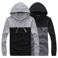 All-match hit color hoodies men 2014 new fashion Simple Autumn hooded pullover men sweatshirt casual slim men hoodies wholesale