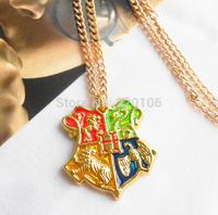 20 PCS/lot  Harry Potter Necklace Aureate high quality
