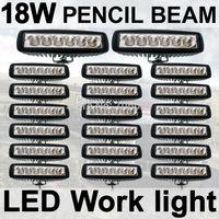 20X18W Fog light 6 inch 18W LED Work Light Bar Spot pencil Driving Lamp Off Road 4WD