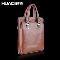 2014 Sale New Bolsa Feminina Men Premium Brand Retro Business Leisure Cow Leather Handmade Handbags Inclined Shoulder Bag