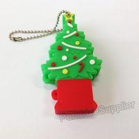 Beautiful pen drive Christmas tree colorful USB flash drive 2.0 Pen stick memory U disk 4GB 8GB 16GB 32GB