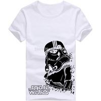Star Wars Darth Vader T Shirts Men Cotton Casual Mens Shirt Short Sleeve O Neck Man Tees Free Shipping