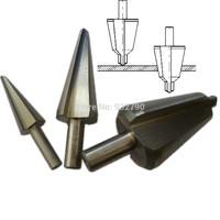 3pcs HSS Umbrella Drill Carbon Steel/Wood/Pv Board Umbrella Chamfering Cutter Chamfer Step Drill Bits 16-30.5mm 5-20mm 3-14mm