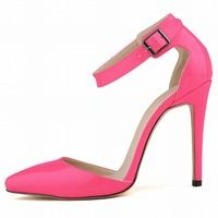 Big size 33-42 fashion 11cm high heels women pumps!!Free pp