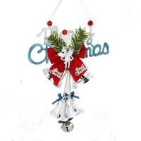 Xmas Tree Ornaments Bells Hanging Decor Christmas Letter Decorations 65091