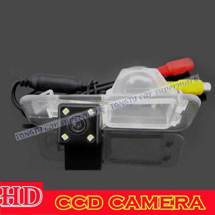 Free shipping HD CCD Car rear view Camera Backup Camera for Kia K2 Rio Sedan with HD LED night vision waterproof(China (Mainland))