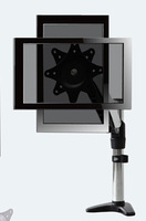 The one arm desktop monitor stand universal ultra-wide 360 viewing angle of rotation effectively prevent eye fatigue