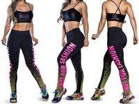 NOT FOR FASHION Print Legging 2014 Punk Women Punk Design Leggins Black Slim Sexy Bottom Sports Leggings For Ladies S16-18