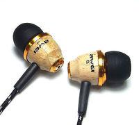 AWEI Super Bass Wooden in Ear Headphones Earphones Earbuds For iPhone MP3 Laptop