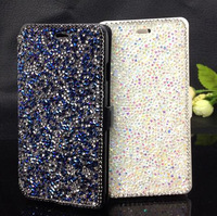 """Retail! For Iphone6 6G I6 4.7"""" Flip Luxury Bank Card Pouch Wallet Bling Shine Crystal Diamond Leather Case Cover"""