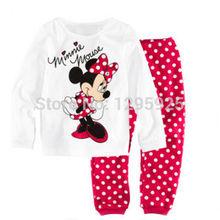 Gift Min Mic key Top Leggings Baby Kids Girls Nightwear Pj s Sleepwear 1 8Y