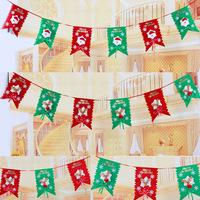 TM40 Christmas Decoration six flag strip