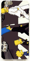 Case for iphone 4/shell cases Homer Simpson designed hard cover for iphone 4 new arrival