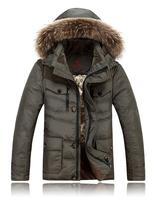 2014 new fashion warm duck down jacket with coat sportswear winter jacket men famous brand for outdoor sale 11.11 2014