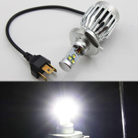 NEW Arrival! 1pc Motorcycle Headlight H4 30w CREE LED 3600LM CONVERSION High Low H/L Head Beam bulb White Motorbike