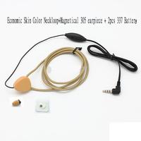 Complete Set  Micro Spy hidden Earpiece with Inductive Neckloop