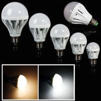 Super Bright E27 Globe LED Bulbs Light Lamp 3W/5W/7W/9W/12W/15W Energy Saving
