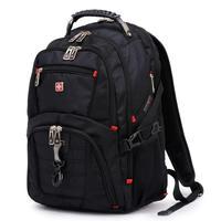 New 2014 Swisswin Backpack Backbag Military Laptop Bag Swissgear Backpack Men Luggage Travel Back Bags Sport Bag