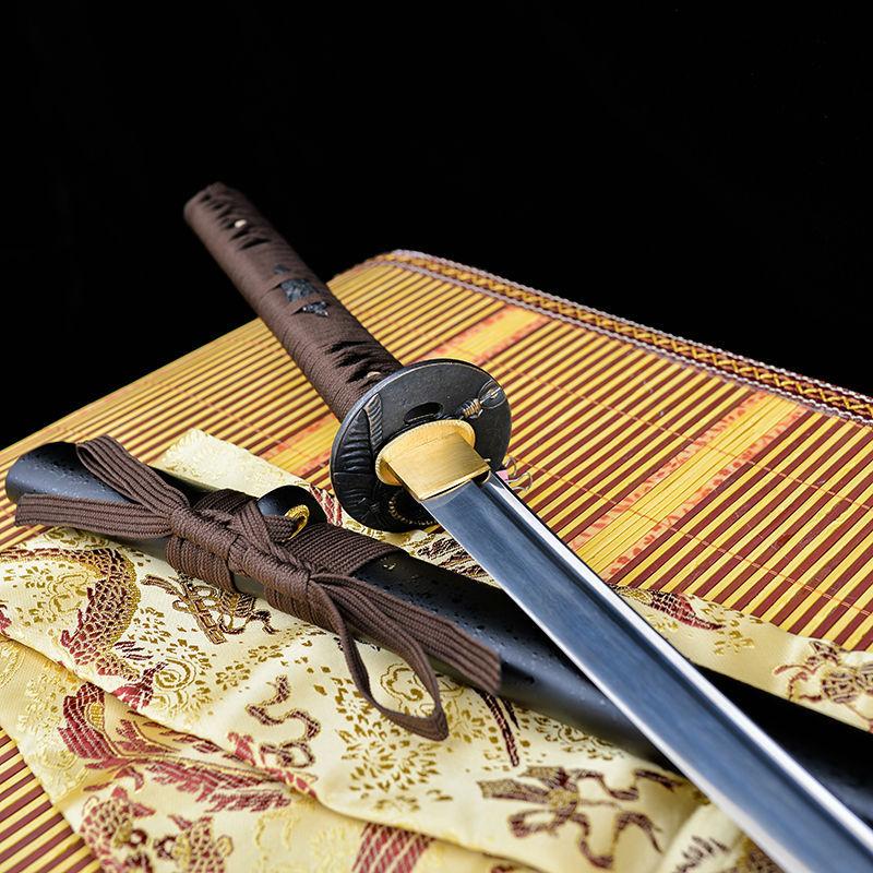 Damascus Steel Katana Sword Steel Damascus Katana