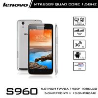 Original Lenovo Brand S960 Octa Core Android 4.4 SmartPhone MTK6592 5.0 Inch IPS Screen 1920X1080P 2GB RAM 16GB ROM 13MP Camera