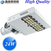 Wholesale 10pcs/lot 24W led street light bridgelux 45mil chip130lm/w top quality led streetlight
