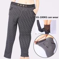 2014 new Super elastic thicken velvet plaid Leggings women winter pants Plus size leggings fat women pants bodycorn pants gift
