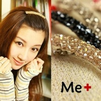 Free shipping flower Crystal hair accessories Korean hairpins jewelry hair clip top  spring clip 5 colors new 2014 wholesale