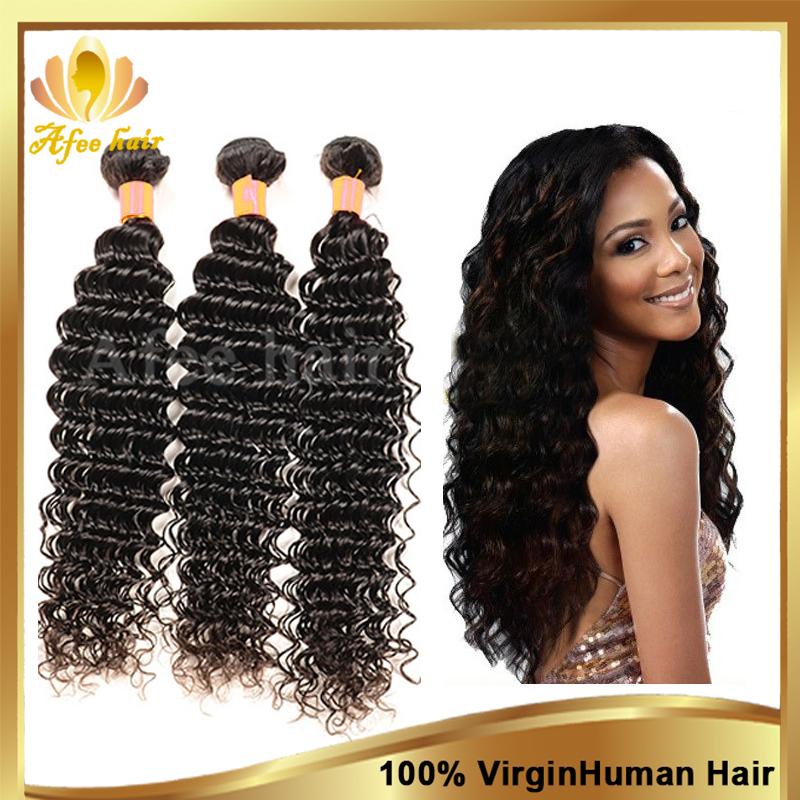 rosa hair products mongolian virgin hair deep wave unprocessed human hair weave 3 bundles 8-30 inch free shipping hair extension(China (Mainland))